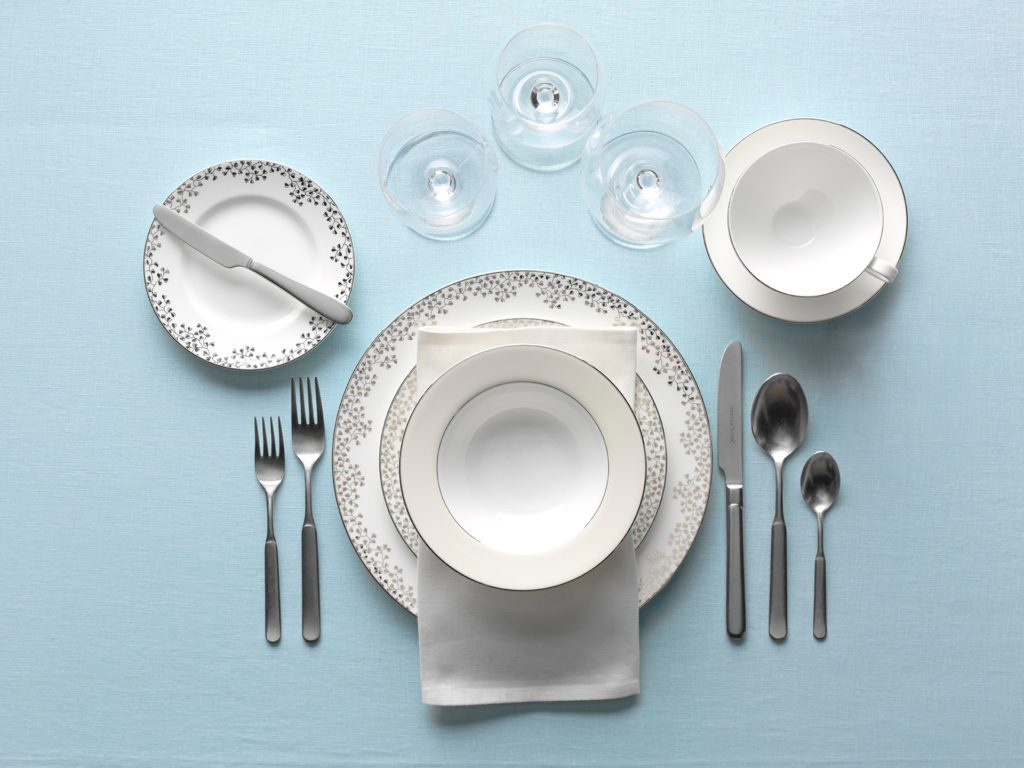 Table Setting For Soup And Salad Amp Formal Dining Setting