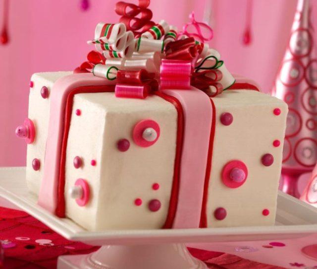 Chocolate Mint Present Cake