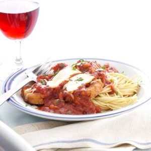 Inspired by: Eggplant Parmigiana from Olive Garden
