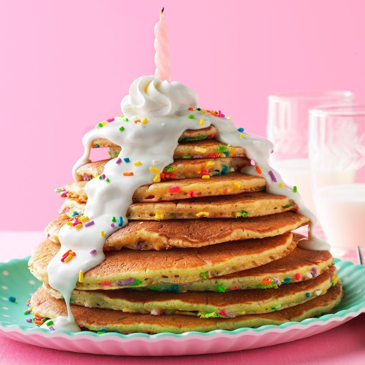 Birthday Cake Pancakes Recipe