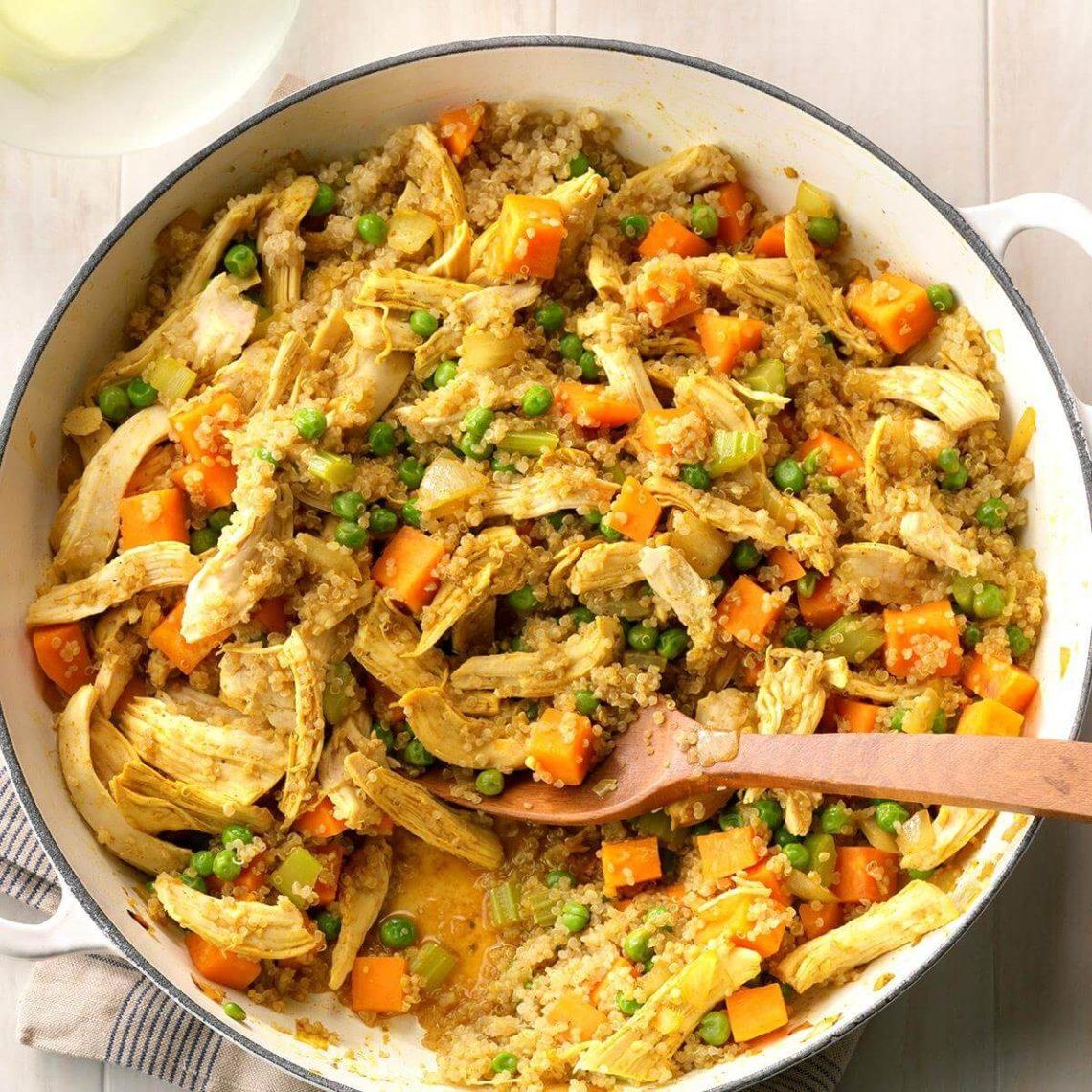 Curried Chicken Skillet Recipe | Taste of Home
