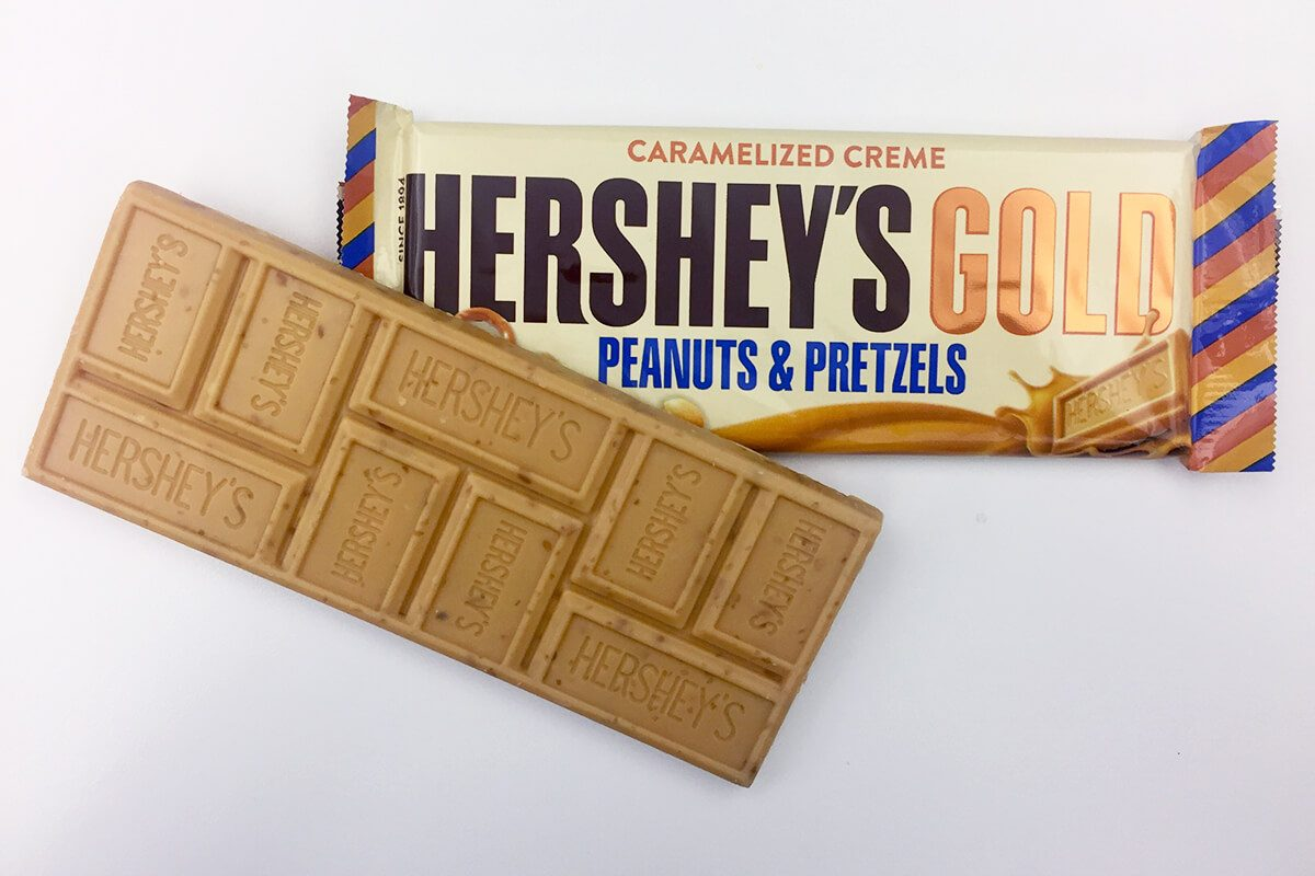 We Tried The New Hershey S Gold Candy Bar