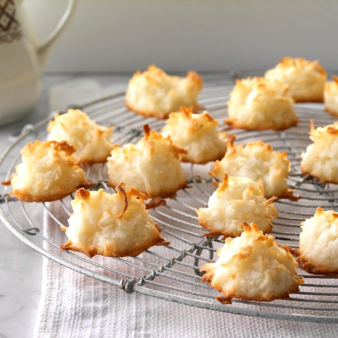 First-Place Coconut Macaroons Recipe | Taste of Home