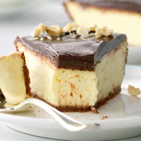 Italian Chocolate-Hazelnut Cheesecake Pie