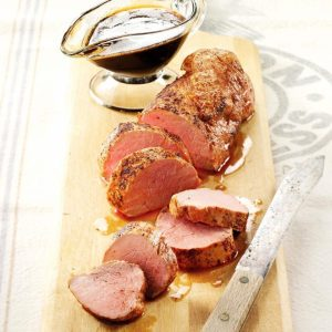 Honey-Glazed Pork Tenderloins