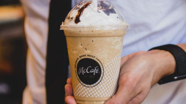 Mc Donald's cold brew coffee