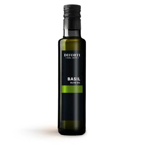 Extra virgin basil-olive-oil