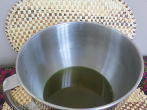 Shea butter hair cream production. South Sudan beauty, African Shea butter, Taste of South Sudan recipe.