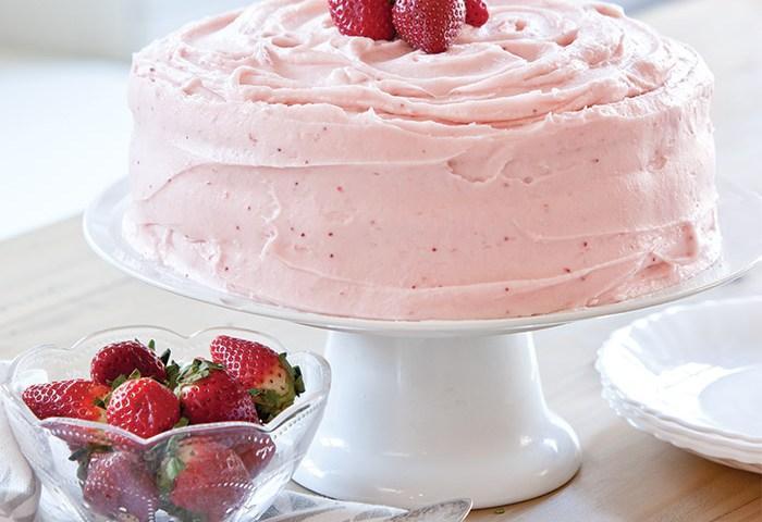 Strawberry Birthday Cake Taste Of The South Magazine