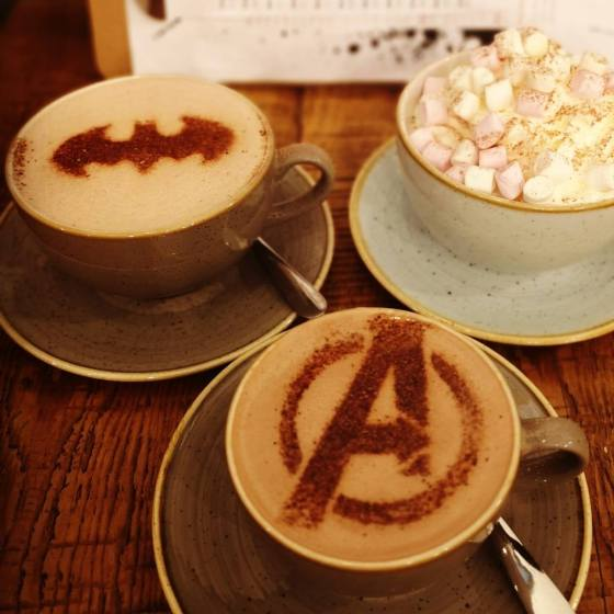 ComiCoffee Drinks