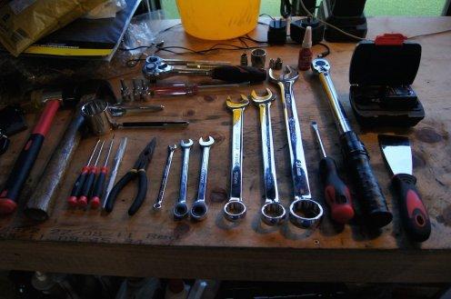 Tools? Check.
