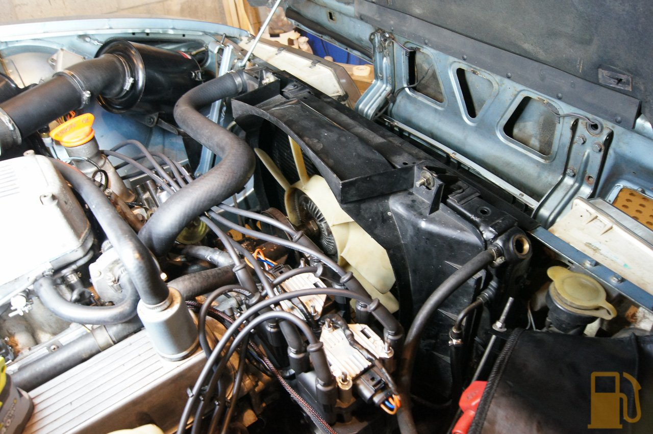 Speeduino Rover Sd1 More Coolant On The Ground Tastes Like Petrol Engine Or Maybe Just Change To A Pair Of Electric Fans Hey Good Thing I Ran That Spare Wire For Fan Trigger In My New Loom Eh