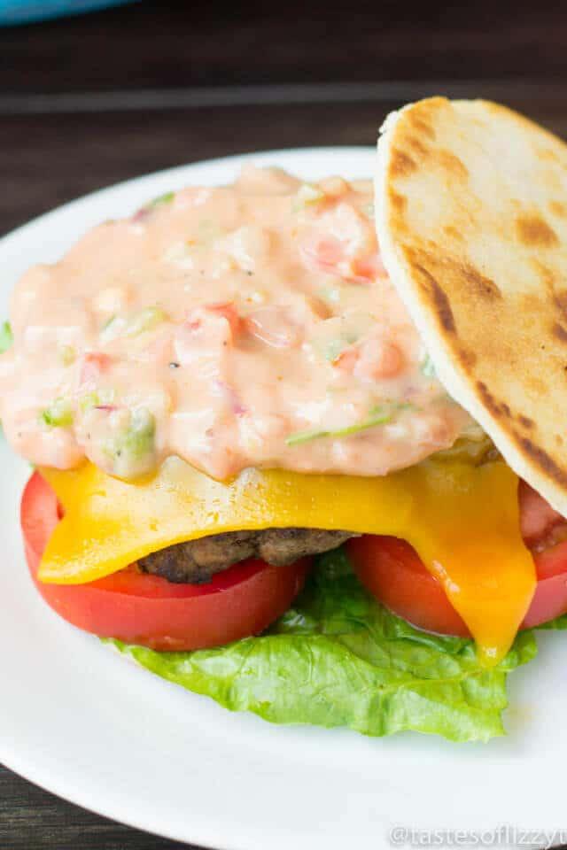 Quesadilla Burger - Copycat Hamburger Recipe