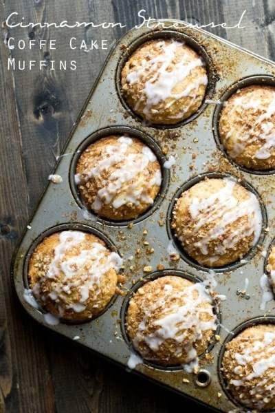 Cinnamon Streusel Coffee Cake Muffins