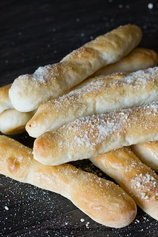 Parmesan Butter Breadsticks