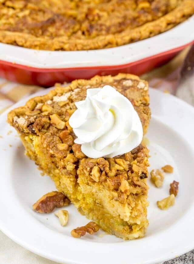 pumpkin dump cake pie