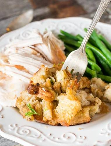 turkey stuffing with sage and poultry seasoning