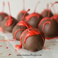 chocolate cherries for valentine's day