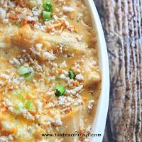 Gluten Free White Chicken Lasagna