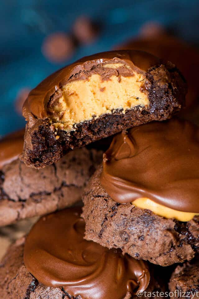 buckeye-brownie-cookies