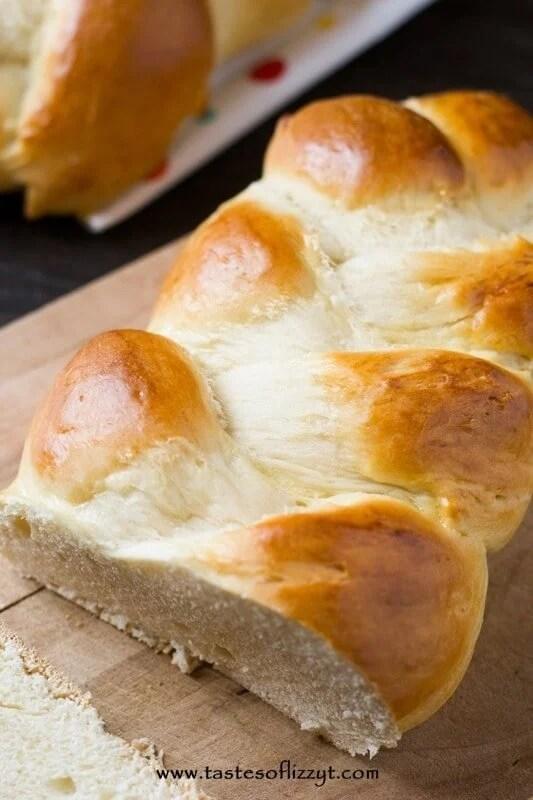 Egg Twist Bread I Tastes of Lizzy T I