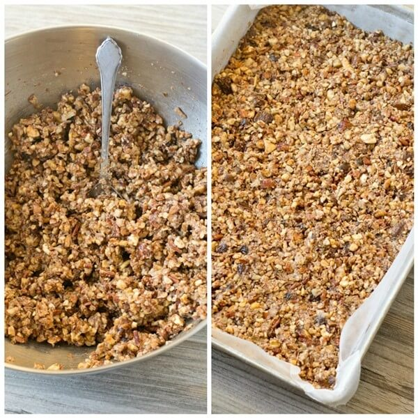 Packed with nuts, dates and a hint of cinnamon, these Paleo Nut Energy Bars are great for an afternoon snack.