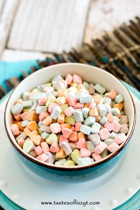 Lucky Charms French Toast wtih Marshmallow Cream Recipe - Tastes of Lizzy T