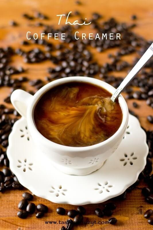 Thai Coffee Creamer Recipe - Tastes of Lizzy T