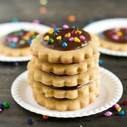 Peanut Butter Cut Out Cookies Recipe - Tastes of Lizzy T