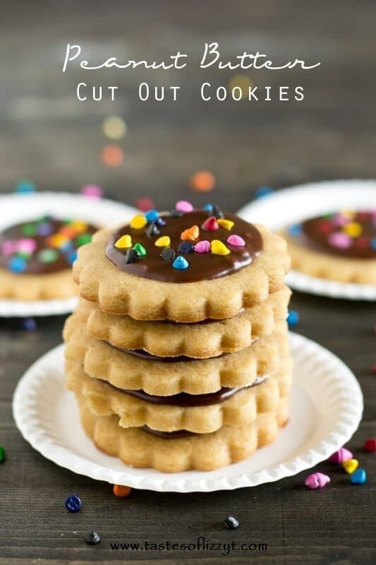 Peanut Butter Cut Out Cookies Recipe