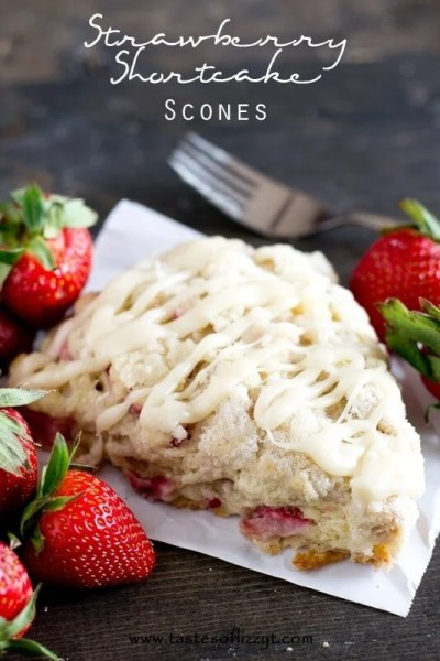 Strawberry Shortcake Scones
