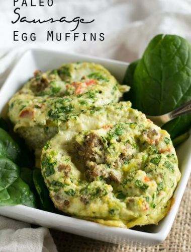 Paleo Sausage Egg Muffins Recipe - Tastes of Lizzy T