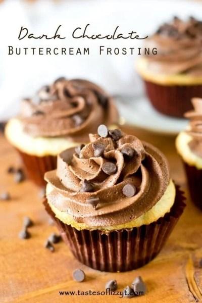 Dark Chocolate Buttercream Frosting