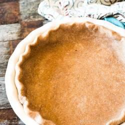 Whole Wheat Pie Crust {Flaky All Butter Pie Crust Recipe}