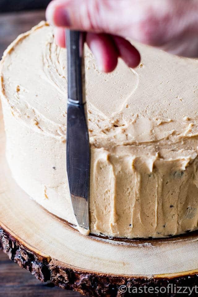 Peanut Butter Snickers Cake {Homemade Chocolate Cake Recipe}