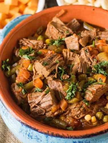 easy soup recipe with leftover roast beef