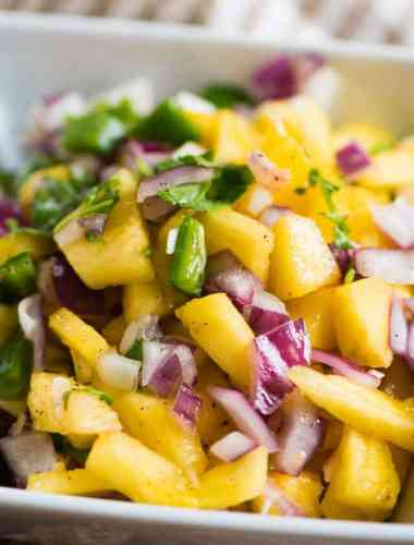 Pineapple Jalapeno Salsa Recipe