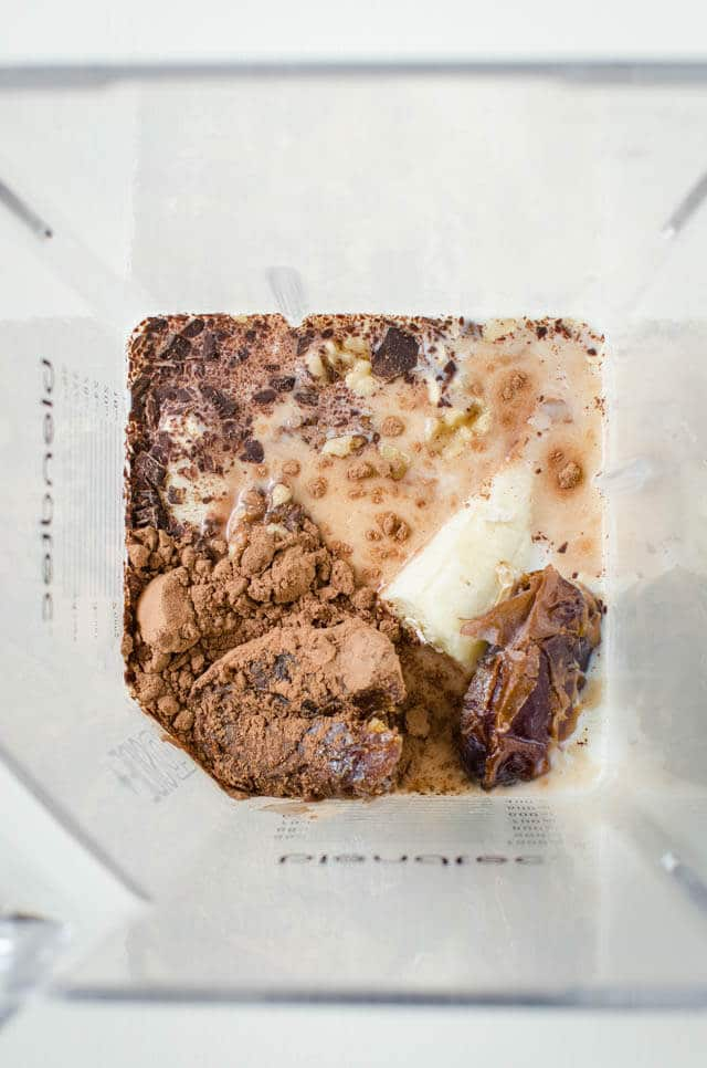 Chocolate Banana Bread Smoothie