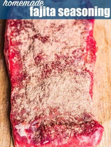 How to Make Fajita Seasoning