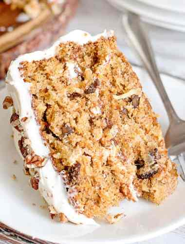 homemade Carrot Cake Recipe