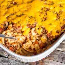 easy ground beef casserole