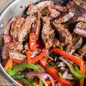 steak fajitas recipe