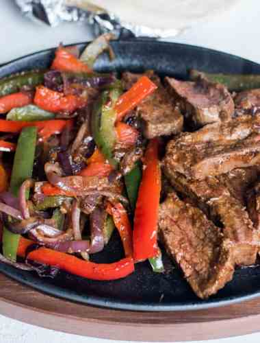 how to make steak fajitas at home