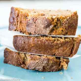 3 slices of Sweet Potato Bread
