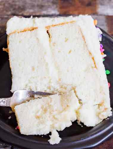 best vanilla cake recipe