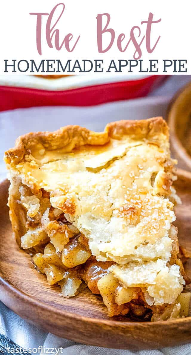 Saigon cinnamon and freshly grated nutmeg are the keys to making this the best homemade apple pie around.