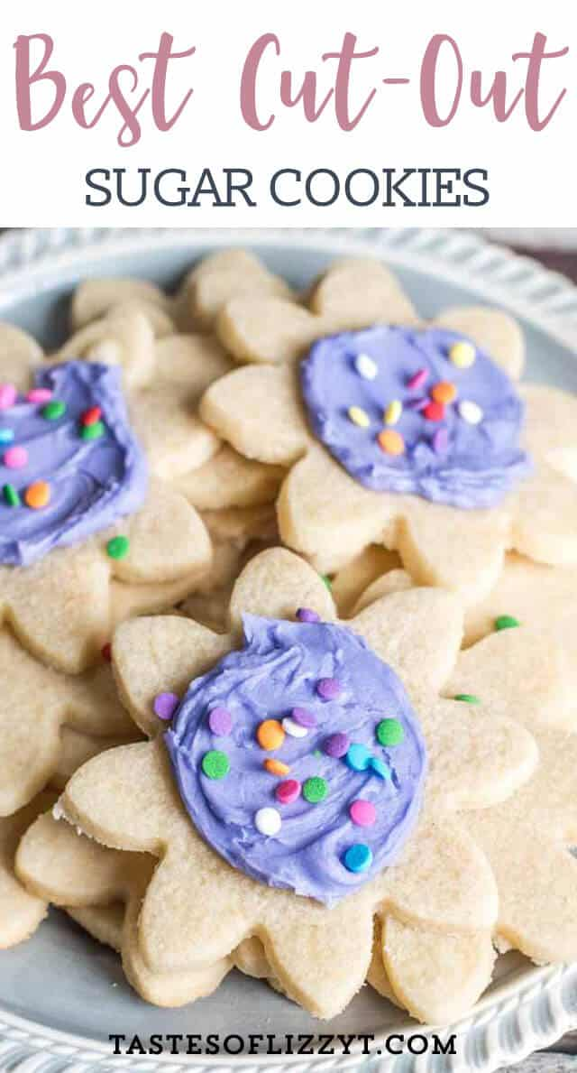 Tips on how to make the best cut out sugar cookies. Buttery and lightly sweet, this cookie dough holds its shape when you bake it. Perfect for Christmas cookies and other holiday shapes.