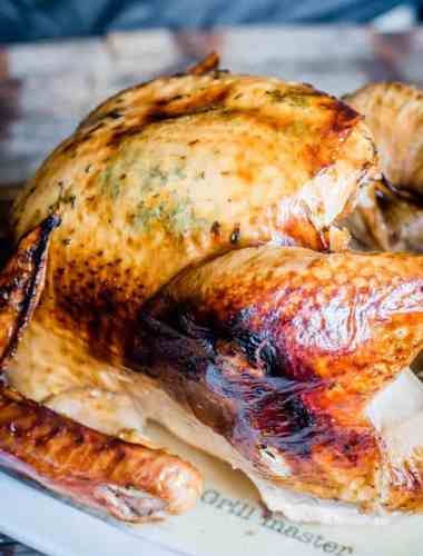 how to get a golden brown turkey