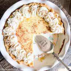 how to make egg custard pie