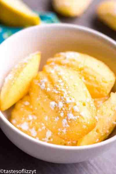 Lemon Madeleine Cookies